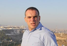 Oded Revivi, head of Efrat Local Council.
