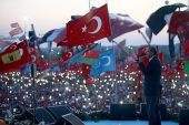 National support rally for Turkey following attempted coup on July 15 2016.