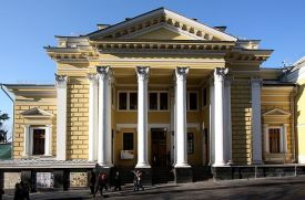 Moscow Choral Synagogue, Bolshoy Psasoglinishchevsky Lane, 10, is the largest and most prominent Jewish house of worship in Russia.