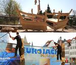 JEZT - Szenen vom Jenaer Holzmarkt mit dem Holzspektakulum - Fotos © JenaKultur
