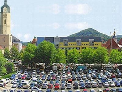 Lichtstadt - Eichplatz für immer ein Parkplatz