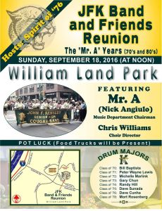 JFK Band and Friends Reunion
