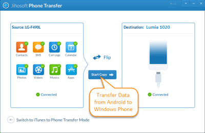 4 Ways to Transfer Data from Android to Windows Phone