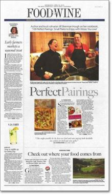 Santa Rosa Press Democrat article, page 1