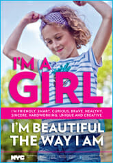 I'm a Girl and I am Beautiful Just The Way I Am!