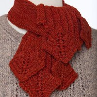 Limestone Scarf Front Static