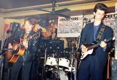 Captains of Industry (featuring Wreckless Eric) at Cricketers in 1985.