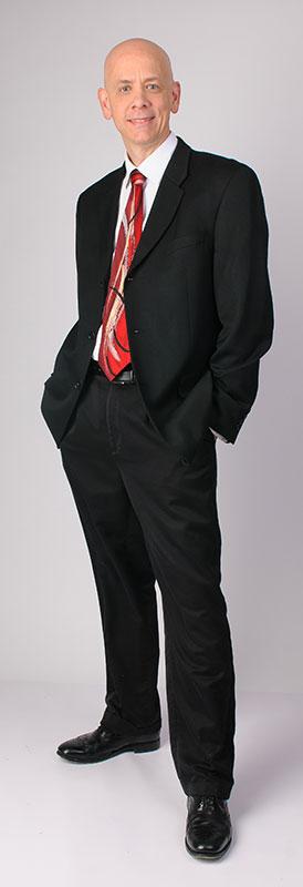 Jim Key, standing