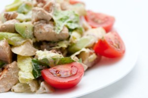 Amablu Blue Cheese ad Turkey Salad