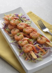 Asian Ginger Shrimp Skewers