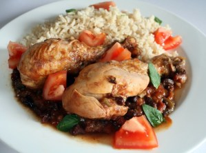 Pineapple Black Bean Chicken