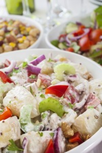 spring salad shutterstock_109438349