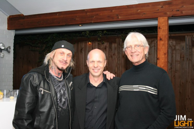 Richard Belliveau, Rick Hutton, and Jim Bornhorst