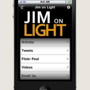 JimOnLight.com App