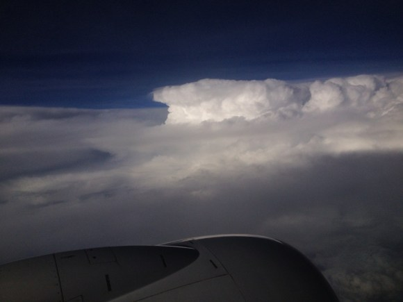 Thunderheads over Georgia