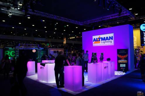 USITT 2015 Show Floor... Altman Lighting