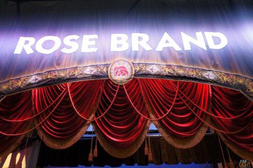 USITT 2015 Show Floor... ROSE BRAND