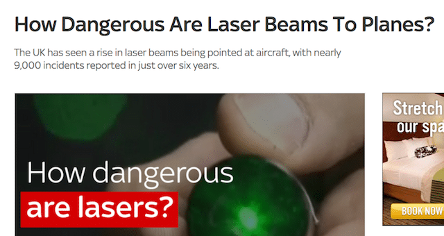 See, this is what happens when we can't have nice lasers
