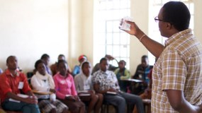 Sexual and Reproductive Health Training for Jitegemee students