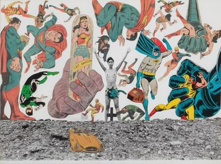 Keiichi Tanaami, Comic strip, 1967, © Keiichi Tanaami, courtesy Galerie Gebr. Lehmann, Berlin / Dresden und Nanzuka, Tokyo