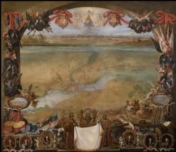David Teniers der Jüngere, Ansicht der Stadt Valenciennes