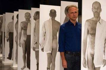 Ausstellungsansicht mit Günther Holler-Schuster, Foto: UMJ / N.