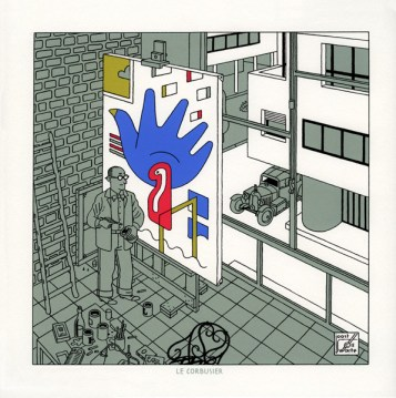 «Corbusier», Portfolio «Trafic», 2011, Siebdruck