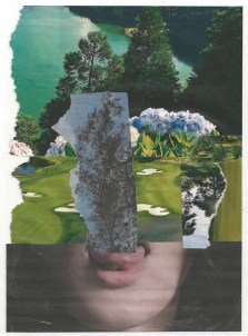 Ruprecht Dreher, Plan Y, 2015, Collage, 21,5 x 15,5 cm
