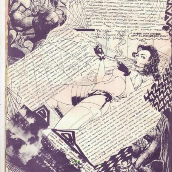 Encyclopaedia of Ecstasy, Incredible Anarcho-Goth-Punk Zine, Alistair Livingstone, 1983