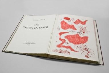 Künstlerbuch von André Masson, Une saison en enfer – Arthur Rimbaud, 1961, mpk, Foto: mpk, © VG Bild-Kunst, Bonn 2013