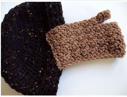 Crochet Beard Hat Pattern