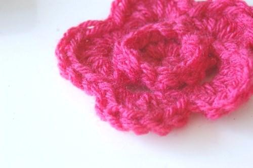 Ridged Crochet Flower Pattern