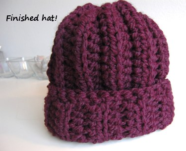 Crochet Patterns Super Bulky Yarn : Free Crochet Hat Pattern by JJCrochet