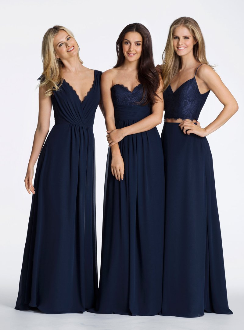 Large Of Navy Blue Bridesmaid Dresses