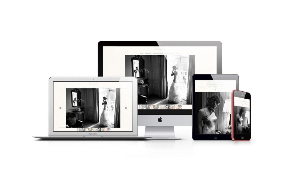 web design - cameo photography