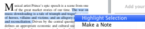 Annotating on Papers for Mac