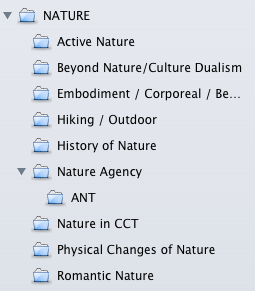 Papers allows you to organize journal articles in a hierarchy of manual collections.