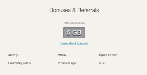 Earn 5GB extra free space with Copy's referral program