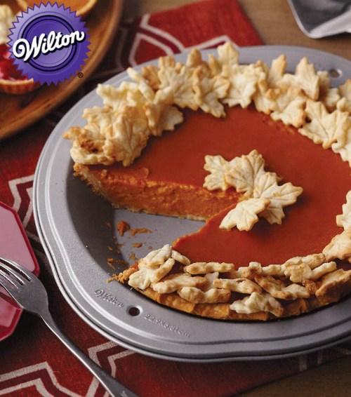 Medium Of Clear Pumpkin Pie