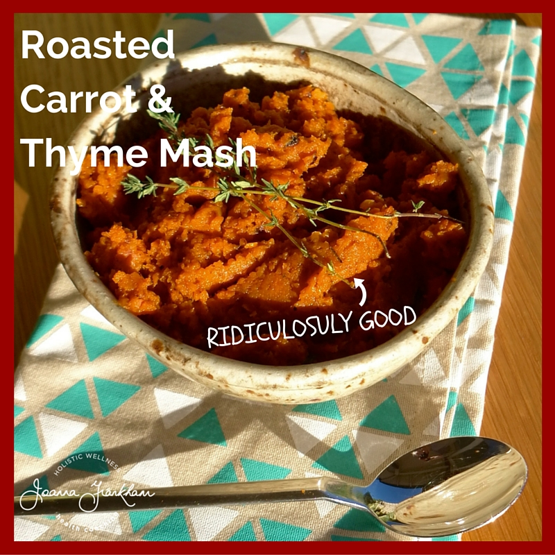 JFC Roasted Carrot & Thyme Mash with Honeyt