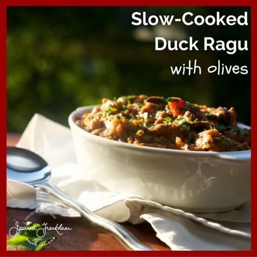 Slow Cooked Duck Ragu