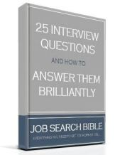 "FREE Interview Guide: ""25 Interview Questions And How To Answer Them Brilliantly"""