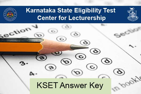 KSET Answer Key Download at uni-mysore.ac.in