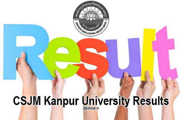 CSJM Kanpur University Results 2016 for Regular/Private Exam