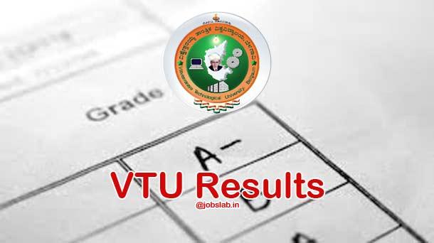 VTU Results 2016 for ODD Sem (1st, 3rd, 5th, 7th Sem) Exam
