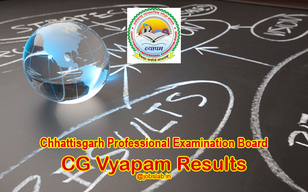CG Vyapam Hostel Warden Result 2016 Available