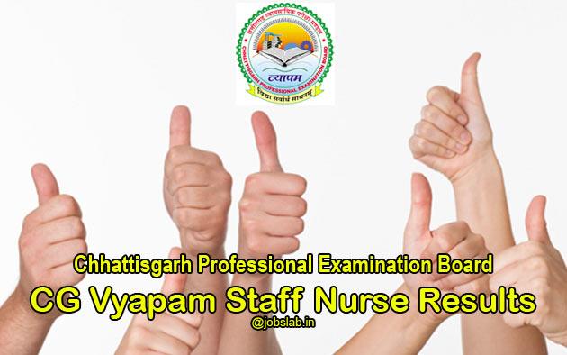 cg-vyapam-staff-nurse-result