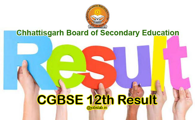 CGBSE 12th Result 2016 Declared
