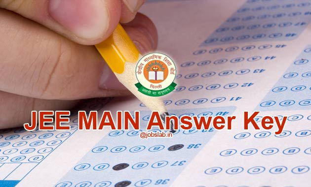JEE Main Answer Key 2016 of Paper 1 and 2 Exams All Sets Available