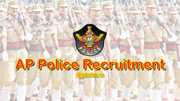 AP Police Recruitment 2016 Apply for 4548 Constable Posts